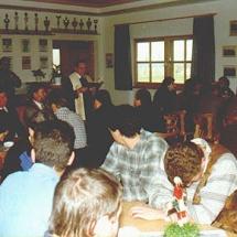 Einweihung Vereinsheim 96