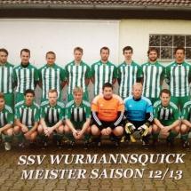 Meistermannschaft Kreisklassen-Reserve 12-13