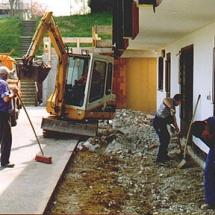 Umbau Vereinsheim 1994_1
