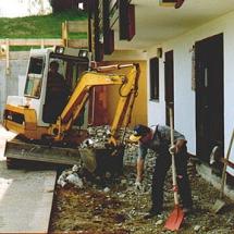 Umbau Vereinsheim 1994_2