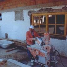 Umbau Vereinsheim 1994_4